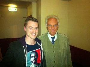Terence Stamp at the Cameo.