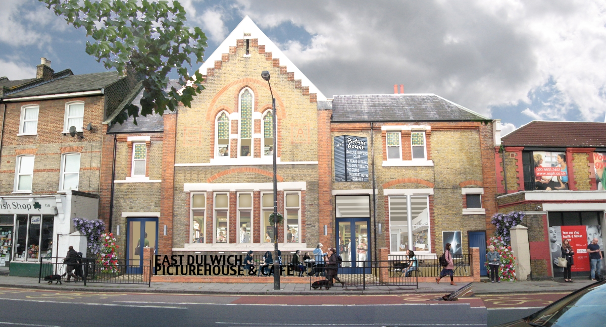 East dulwich picturehouse café