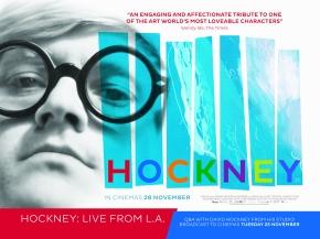 First Look: UK Poster forHOCKNEY