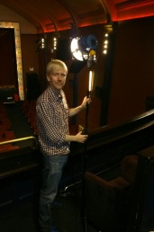 Director James at Duke of Yorks Picturehouse Brighton