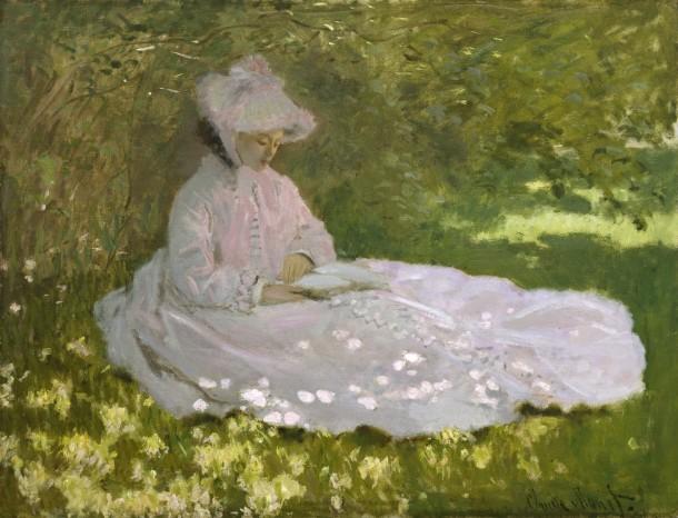 Springtime, 1872 Claude Monet, The Walters Museum of Art