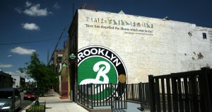 Brooklyn Brewery brewhouse and packaging outside
