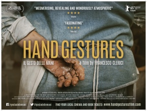 First look: Poster exclusive for Hand Gestures (Il gesto dellemani)