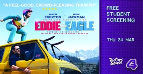 E4 Slackers Club presents Eddie the Eagle exclusive preview!