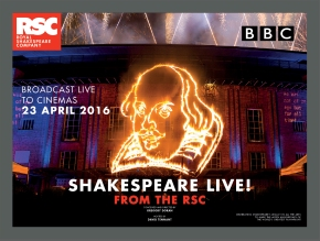 Picturehouse Entertainment to broadcast Shakespeare Live! From The RSC in cinemas throughout UK & Europe