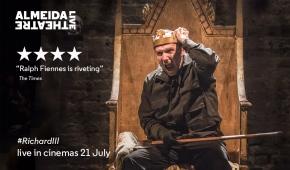 Celebrate Almeida Live: Richard III and win tickets to AlmeidaTheatre