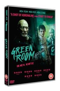 Green Room DVD 3D Packshot