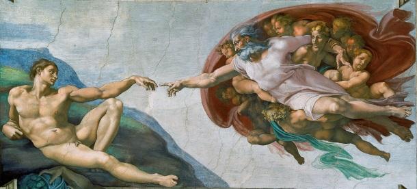 Michelangelo, The Creatin of Adam,c.1511