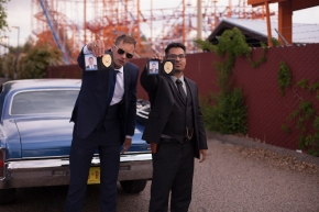 Picturehouse Podcast: War On Everyone with John Michael McDonagh, Alexander Skarsgård and Michael Peña