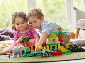 Toddler Time LEGO® DUPLO® competition